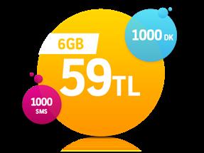Turbo Ekstra 6GB Kampanyası