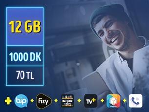 Satın Al GNÇ 12 GB