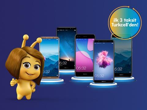 Huawei 3 Taksit Bizden Akıllı Telefon Kampanyası