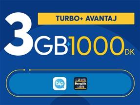 Turbo+ Avantaj Kampanyası