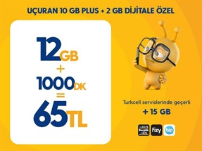 Uçuran 10 GB Plus Paketi