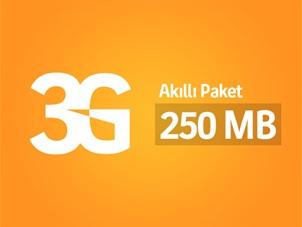 Akıllı 250MB İnternet Paketi Kampanyası