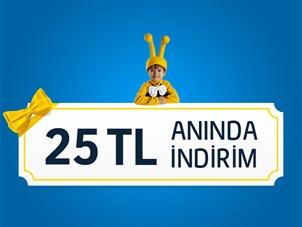 25 TL'niz Turkcell.com.tr'den!