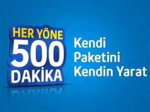 Her Yöne Ben Yaptım 500 Kampanyası