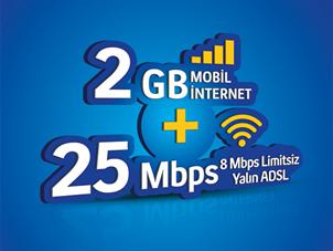 Cepten 2 GB'lı Evde İnternet Kampanyası