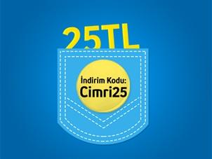 25 TL Hediye Çeki Kampanyası