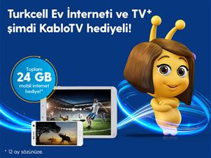 Evden Cebe Taşan KabloTV Hediyeli TV+ ve Ev İnterneti Kampanyası