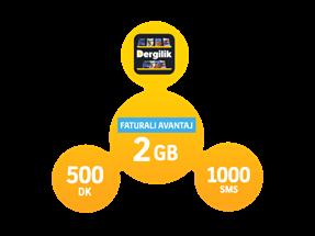 Faturalı Avantaj 2GB Yıllık Abonelik Kampanyası
