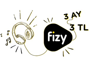 fizy Premium 3 ay 3 TL Kampanyası