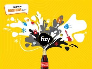 fizy Premium Coca Cola Kampanyası