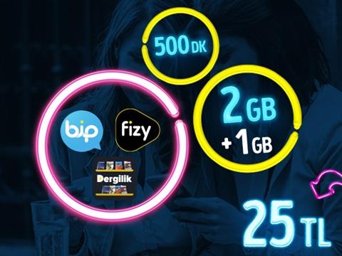 GNÇ Full 2 GB Kampanyası-Yeni Müşteri