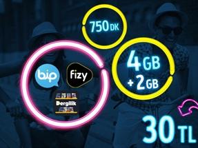GNÇ Full 4 GB Kampanyası-Yeni Müşteri
