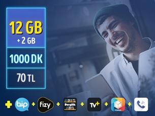 Satın Al GNÇ 12 GB – Faturalı'ya Geçiş