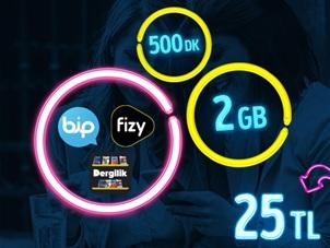 GNÇ Full 2 GB Kampanyası