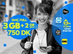 GNÇ Full 5GB Kampanyası