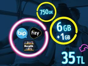 GNÇ Full 6 GB Kampanyası
