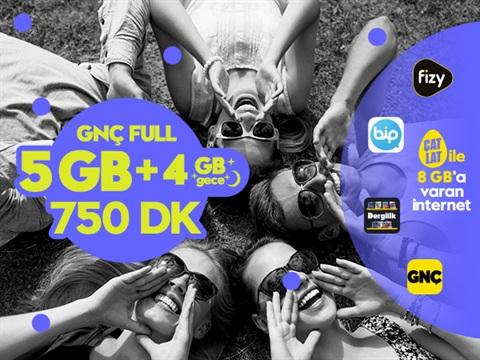 GNÇ Full 9GB Kampanyası