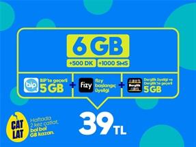 GNÇ Süper 6GB