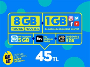 GNÇ Süper 8GB