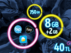 GNÇ Full 8 GB Kampanyası - Yeni Müşteri