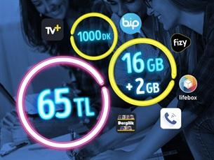 Satın Al GNÇ 16 GB – Faturalı'ya Geçiş