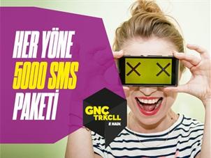Her Yöne 5000 SMS Paketi