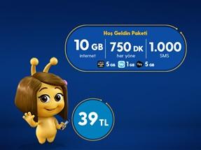 Hoş Geldin 10GB