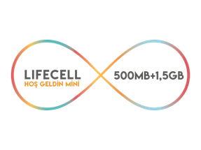 Lifecell Hoş Geldin Mini