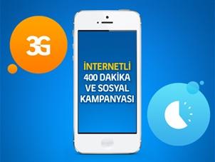 İnternetli 400 Dk ve Sosyal Kampanyası