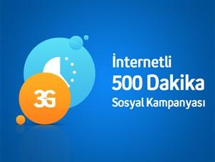 İnternetli 500 Dk ve Sosyal Kampanyası