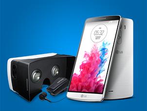 Taksitli LG G3 Satışlarına Bluetooth Kulaklık ve VR Gözlük Hediye!