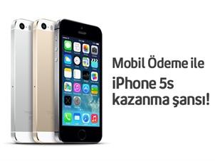 Turkcell Mobil Ödeme iPhone 5s Çekiliş Kampanyası