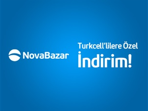 Novabazar.com'dan Turkcell Cüzdan'a Özel anında 50TL indirim!
