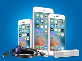 iPhone Alanlara Philips Aksesuar Seti Hediye