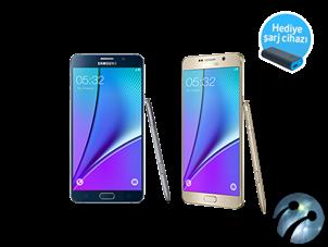 Samsung Galaxy Note 5 Şimdi turkcell.com.tr'de Ön Satışta!