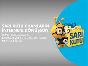 Sarı Kutu Paycell Kart Kampanyası