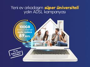 Süper Üniversiteli Yalın VDSL Kampanyası
