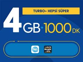 Turbo+ Hepsi Süper Kampanyası