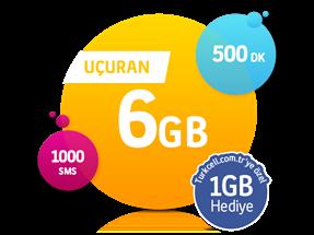 Uçuran 6 GB Paketi