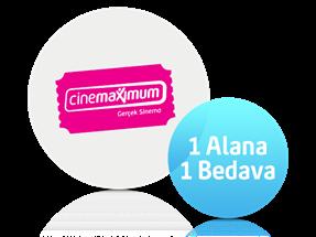 Cinemaximum Sinema Bileti Hediyesi