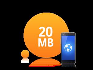 Satın Al 20 MB İnternet Paketi
