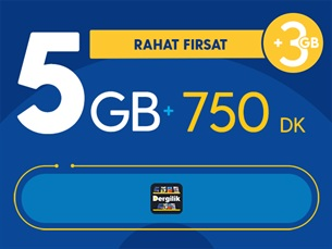 Satın Al Rahat Fırsat 5GB Paketi - Tekrarsız