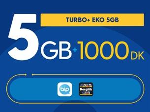 Satın Al Turbo+ Eko 5GB