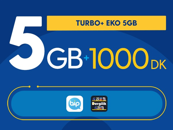 Turbo+ Eko 5GB