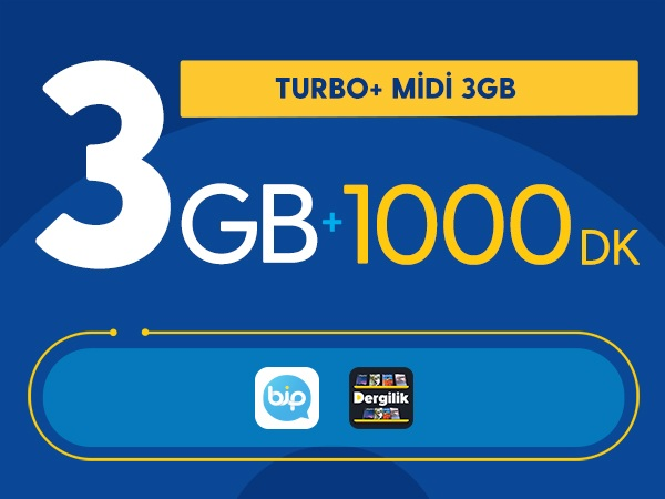 Turbo+ Midi 3GB