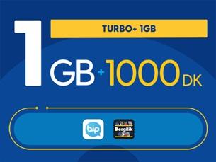 Satın Al Turbo+ 1GB