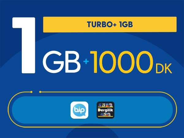 Turbo+ 1GB