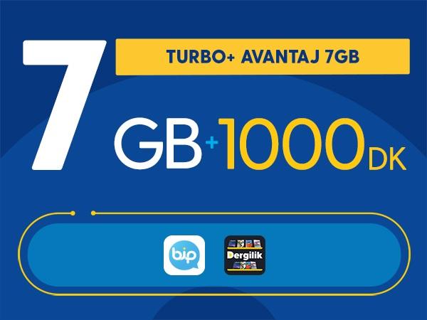 Turbo+ Avantaj 7GB