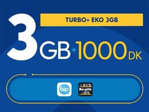 Satın Al Turbo+ Eko 3GB