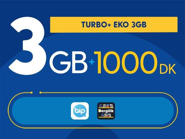 Turbo+ Eko 3GB